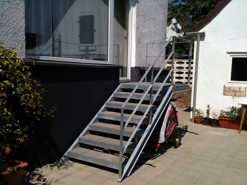 ps metallbau treppen. Black Bedroom Furniture Sets. Home Design Ideas